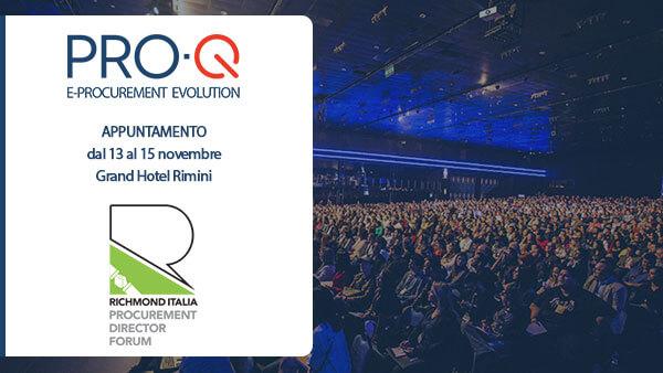 PRO-Q al Richmond Procurement Director Forum