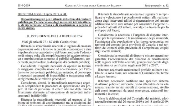 decreto-sblocca-cantieri-testo